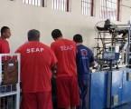 Fábrica de sacolas garante emprego para detentos de Juiz de Fora