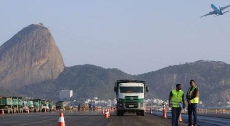 Pista principal do Aeroporto Santos Dumont será liberada no fim de semana