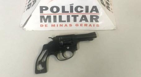 Detido com revólver após render vítima e roubar carro em Nova Serrana