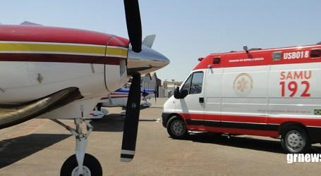 Recém-nascida é transferida de Pará de Minas para Sete Lagoas pelo Batalhão de Operações Aéreas
