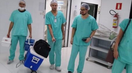 HNSC realiza nova coleta para transplante e oito pessoas devem receber os órgãos de doador paraminense