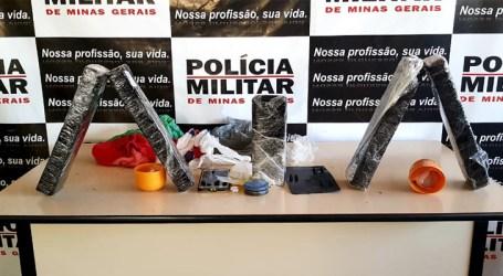 Grávida denunciada por suspeita de tráfico é presa em Luz com mais de quatro quilos de maconha