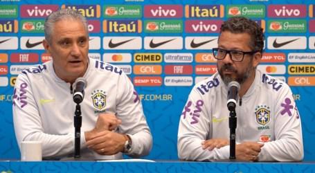 Tite elogia evolução do Peru, próximo adversário da Seleção Brasileira