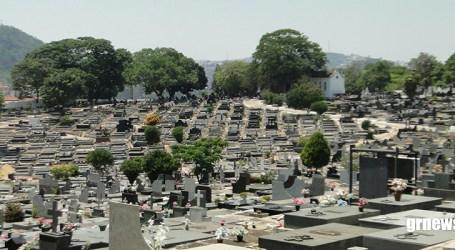 Prefeitura contrata empresa em caráter emergencial para perfurar 200 novos túmulos no Cemitério Santo Antônio