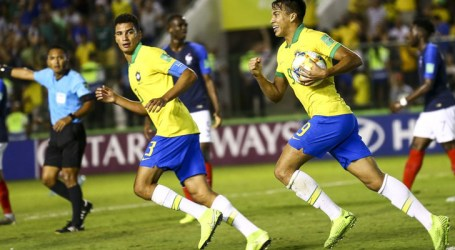 Brasil bate a França de virada e decide Mundial Sub-17