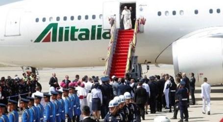 Papa Francisco está em Bangcoc, primeiro destino da visita à Ásia