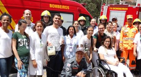 Simulação de incêndio em hospital de Itaúna treinou funcionários e identificou pontos que precisam de melhorias