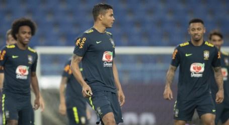 Thiago Silva será o capitão da Seleção Brasileira contra a Argentina