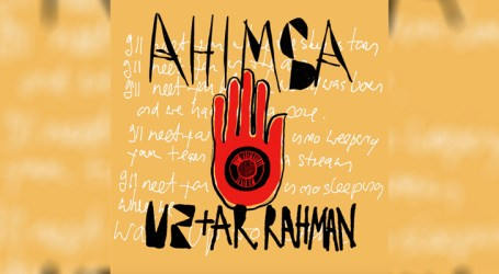"U2 e A.R. Rahman lançam a faica ""Ahimsa"""