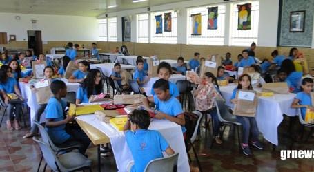 Patronato ministra atividades remotas para alunos e realiza campanha para arrecadação de alimentos para famílias