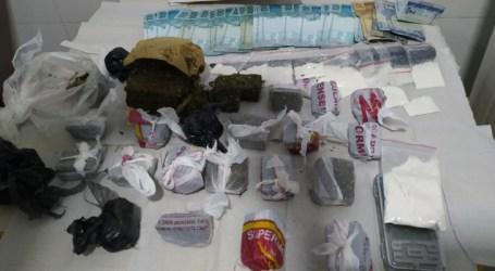 Suspeito de tráfico é preso em Formiga com maconha, cocaína e dinheiro