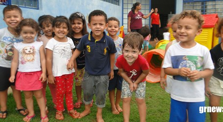 Colônia de férias creches paraminenses proporciona diversão e aprendizado para a criançada