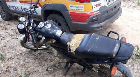 Moto furtada há dois anos em Pedro Leopoldo é encontrada em Maravilhas