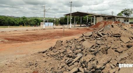 Começa reforma do Parque de Exposições e local dos novos banheiros mudará projeto dos eventos