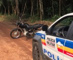 Moto furtada em Pará de Minas é encontrada em Matinha