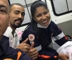Equipe do SAMU de Divinópolis realiza primeiro parto de 2020 dentro de uma ambulância