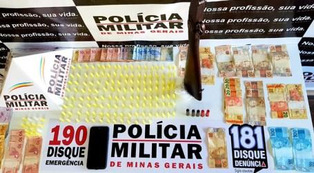 Casal preso por suspeita de vender comida e drogas em Luz