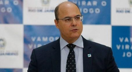 STJ suspende depoimento de Witzel sobre suposto esquema de corrupção