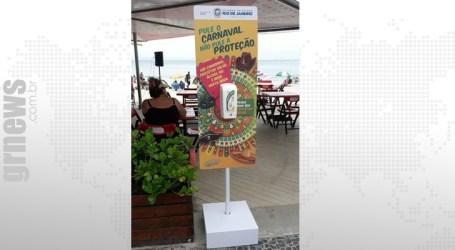 Carnaval 2020: Rio distribui preservativos e álcool em gel para os foliões