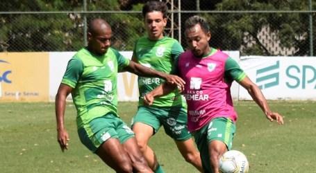 América segue a preparação para jogo contra o Coimbra