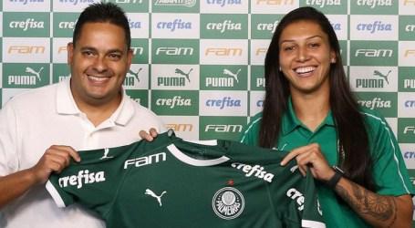Bia Zaneratto reforça futebol feminino do Palmeiras