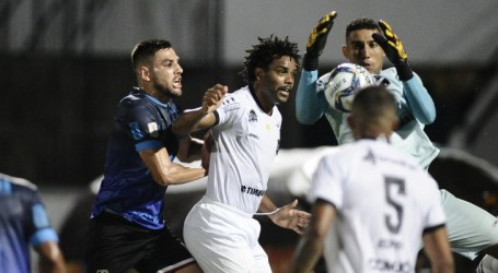 Santa Cruz marca nos acréscimos e vence a primeira na Copa do Nordeste
