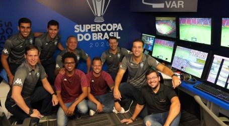 Inédito, VAR remoto na Supercopa do Brasil 2020 passa no teste