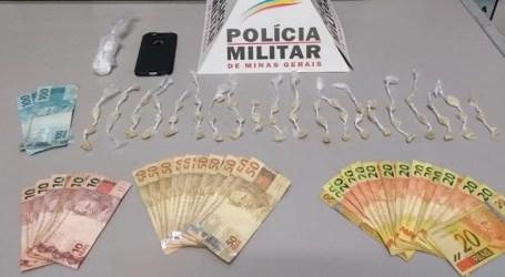 Adolescente detido com 60 pedras de crack e dinheiro no Esplanada