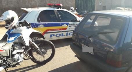 Trio detido por furto e receptação de Fiat Uno no Jardim América; adolescente é acusado do crime