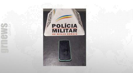 Jovem sem CNH é preso com celular roubado em Nova Serrana