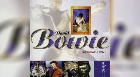 """""""Liveandwll.com"""", de David Bowie, já está disponível nas plataformas digitais"""