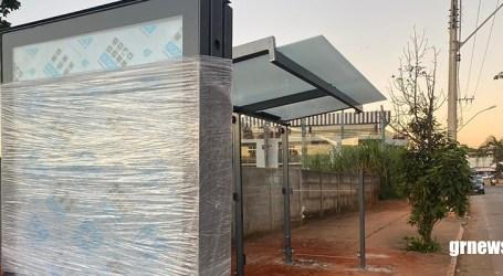 Revitalização da Presidente Vargas entra na fase final com instalação de guaritas sustentáveis