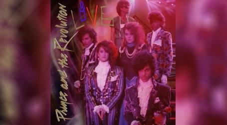"""Álbum """"Prince and the Revolution: Live"""" está disponível nas plataformas digitais"""