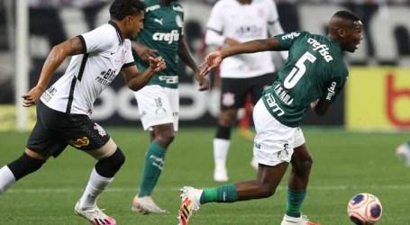 Corinthians e Palmeiras empatam no primeiro jogo da final do Paulista