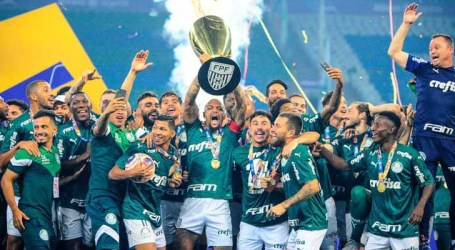 Palmeiras é campeão paulista