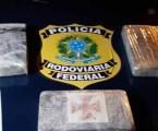 Passageiro de ônibus é preso em MG com Cloridrato de Cocaína avaliado em mais de R$ 400 mil