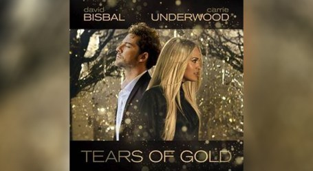 "David Bisbal e Carrie Underwood se unem para lançamento de ""Tears of Gold"""