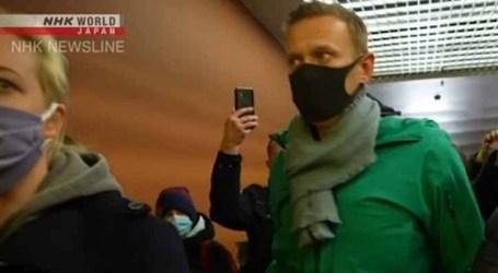 Polícia russa prende 1.784 pessoas durante manifestações pró-Navalny