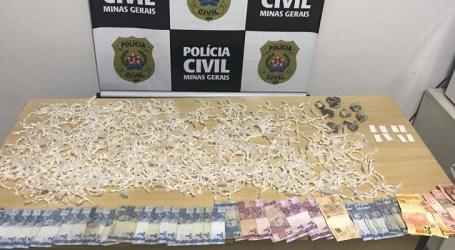 PCMG prende suspeito de tráfico de drogas em Nova Serrana