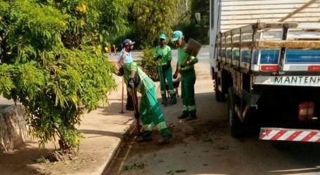 Limpeza de bueiros para evitar alagamentos continua e secretário pede colaboração dos paraminenses