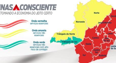 Região Oeste segue na onda vermelha e conforme o Minas Consciente só serviços essenciais podem funcionar