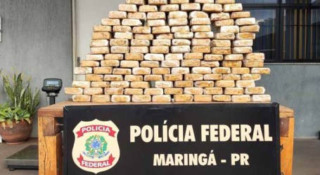 Polícia Federal apreende caminhão com 154 kg de crack no Paraná