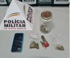 Trio preso com cigarros e porções de maconha no Santo Antônio