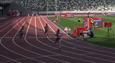 Sem torcida, Estádio Olímpico de Tóquio sedia evento-teste de atletismo