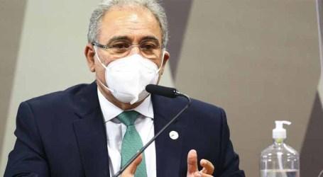 Ministro da Saúde se diz disposto a depor novamente à CPI da Pandemia