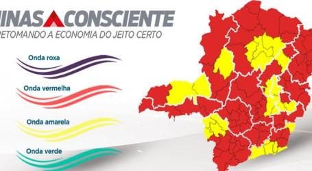 Pará de Minas segue na onda vermelha e macrorregião Norte regride no plano Minas Consciente