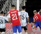 Argentina e Chile empatam pela Copa América