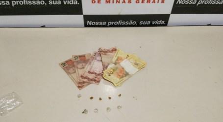 Suspeito de tentativa de homicídio é detido em Lagoa da Prata com drogas e dinheiro
