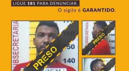 Preso criminoso da lista dos mais procurados de MG, após denúncia anônima feito pelo 181