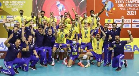 Seleção brasileira vence Argentina e conquista o 33º título Sul-Americano de vôlei
